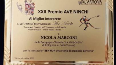 Premio Ave Ninchi 2018